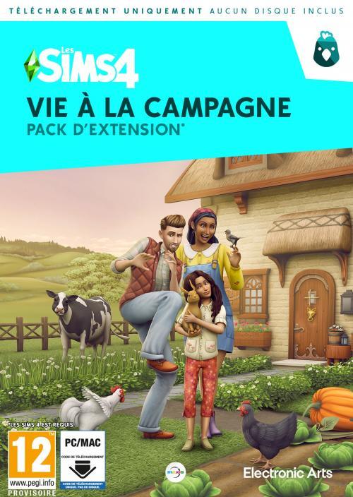 Les Sims 4: Vie à la Campagne (Add-On) (Code in a Box) (PC/MAC)