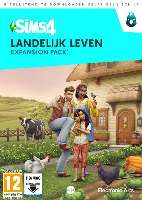 De Sims 4: Landelijk Leven (Add-On) (Code in a Box) (PC/MAC)