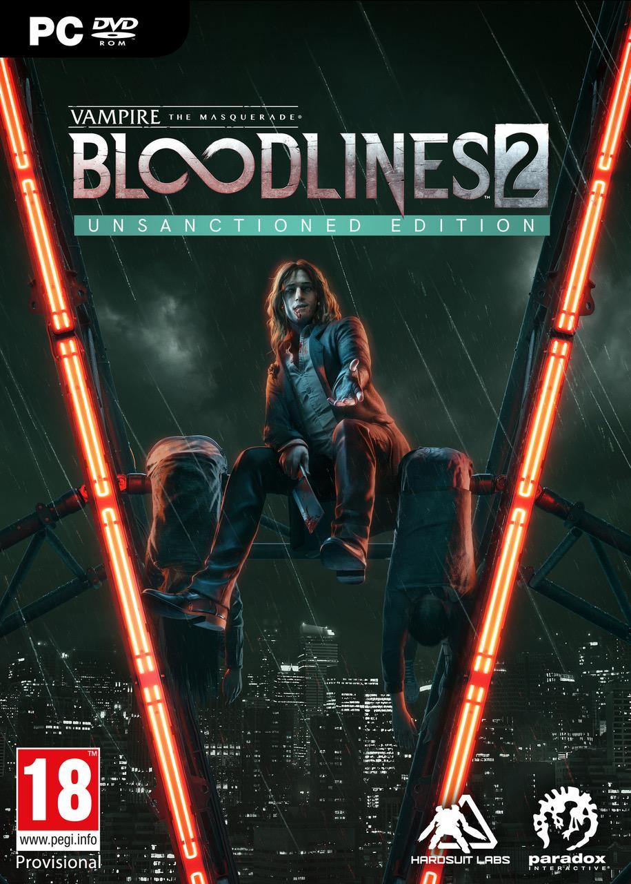 Vampire:The Masquerade Bloodlines 2 - Unsanctioned Edition (Steelbook)_1
