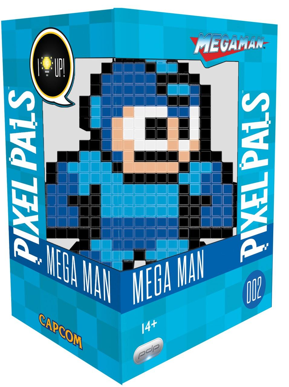 PIXEL PALS Light Up Collectible Figures - Capcom - Megaman - W2