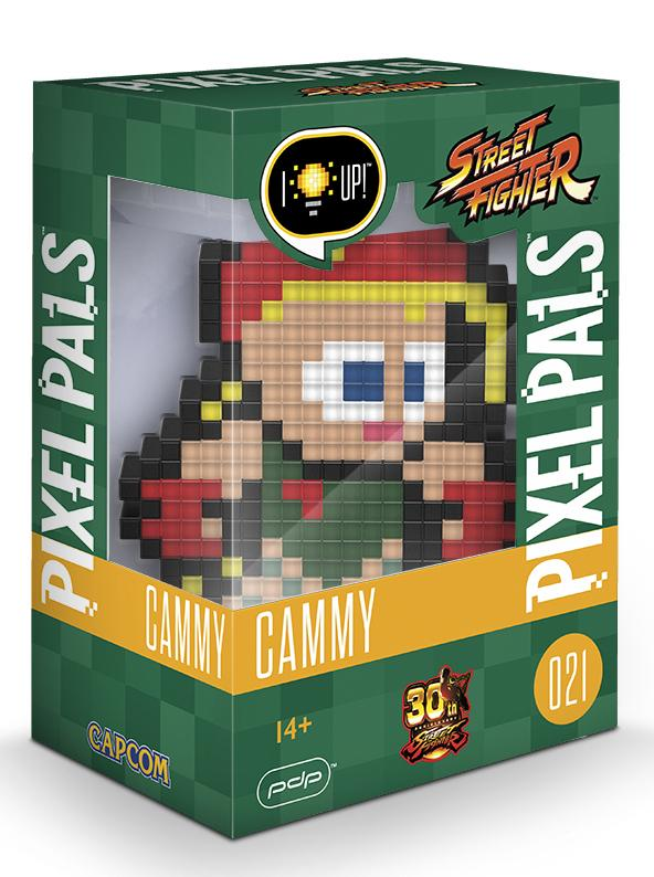 PIXEL PALS Light Up Collectible Figures - Street Fighter - Cammy