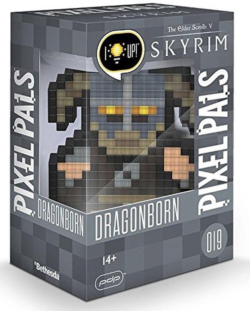 PIXEL PALS Light Up Collectible Figures - Skyrim - Dragonborn