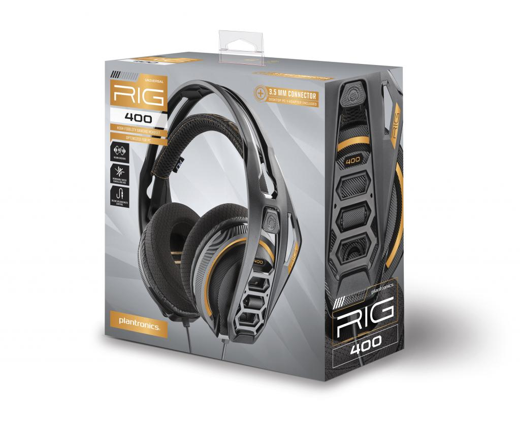 Plantronics - RIG 400 Gaming Headset DOLBY ATMOS
