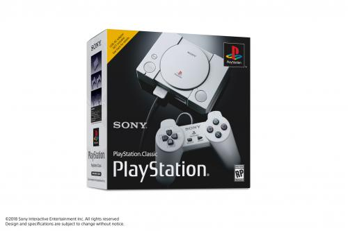 Console Playstation Classic Day One - Games UK only