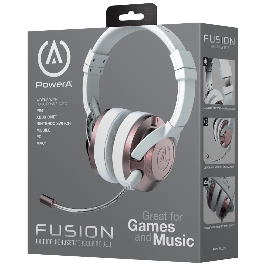 POWER A - Fusion Wired Gaming Headset Rose Gold (PS4/XBONE/PC/MAC)
