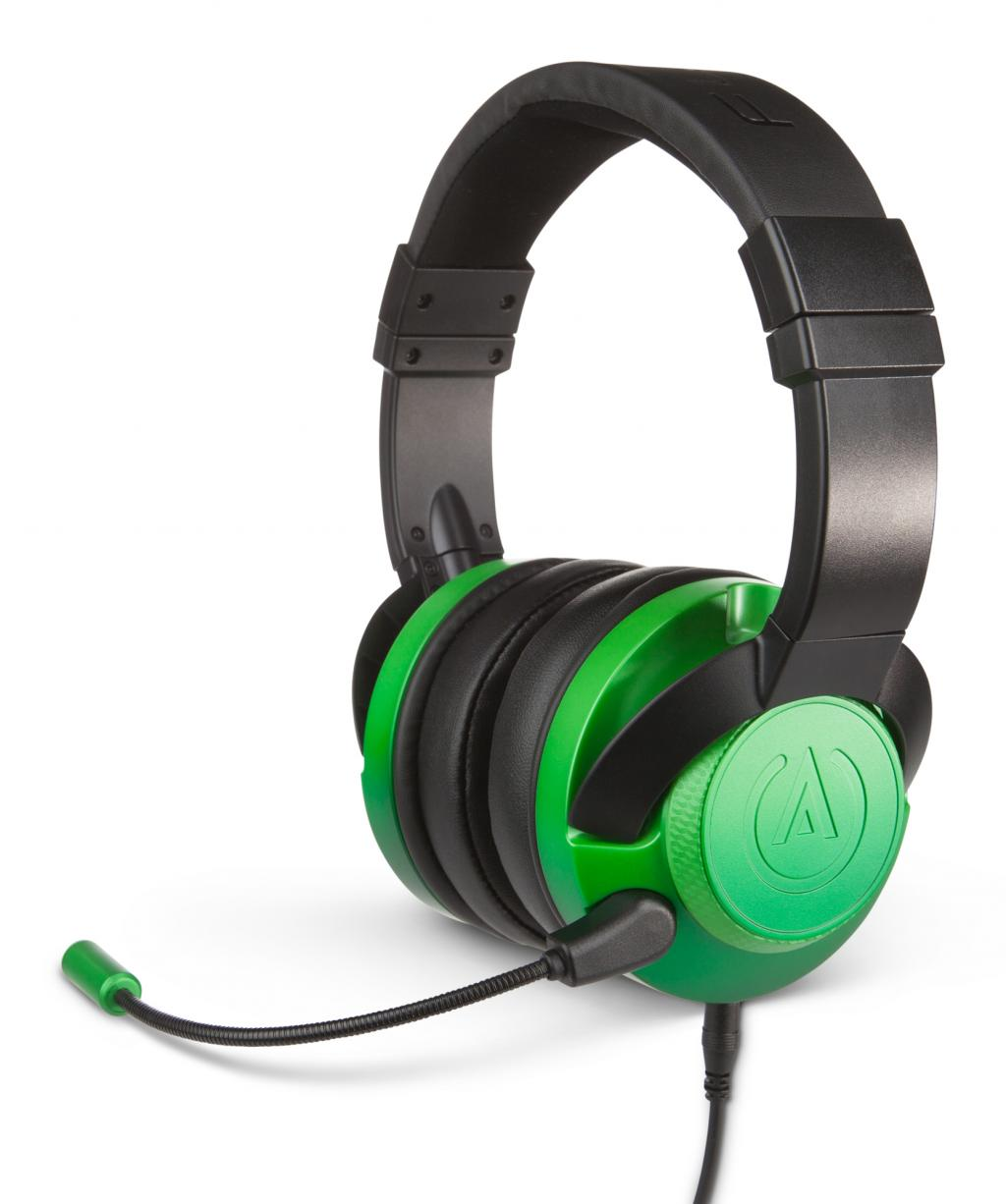 POWER A - Fusion Wired Gaming Headset Emerald (PS4/XBONE/PC//MOBILE)_1