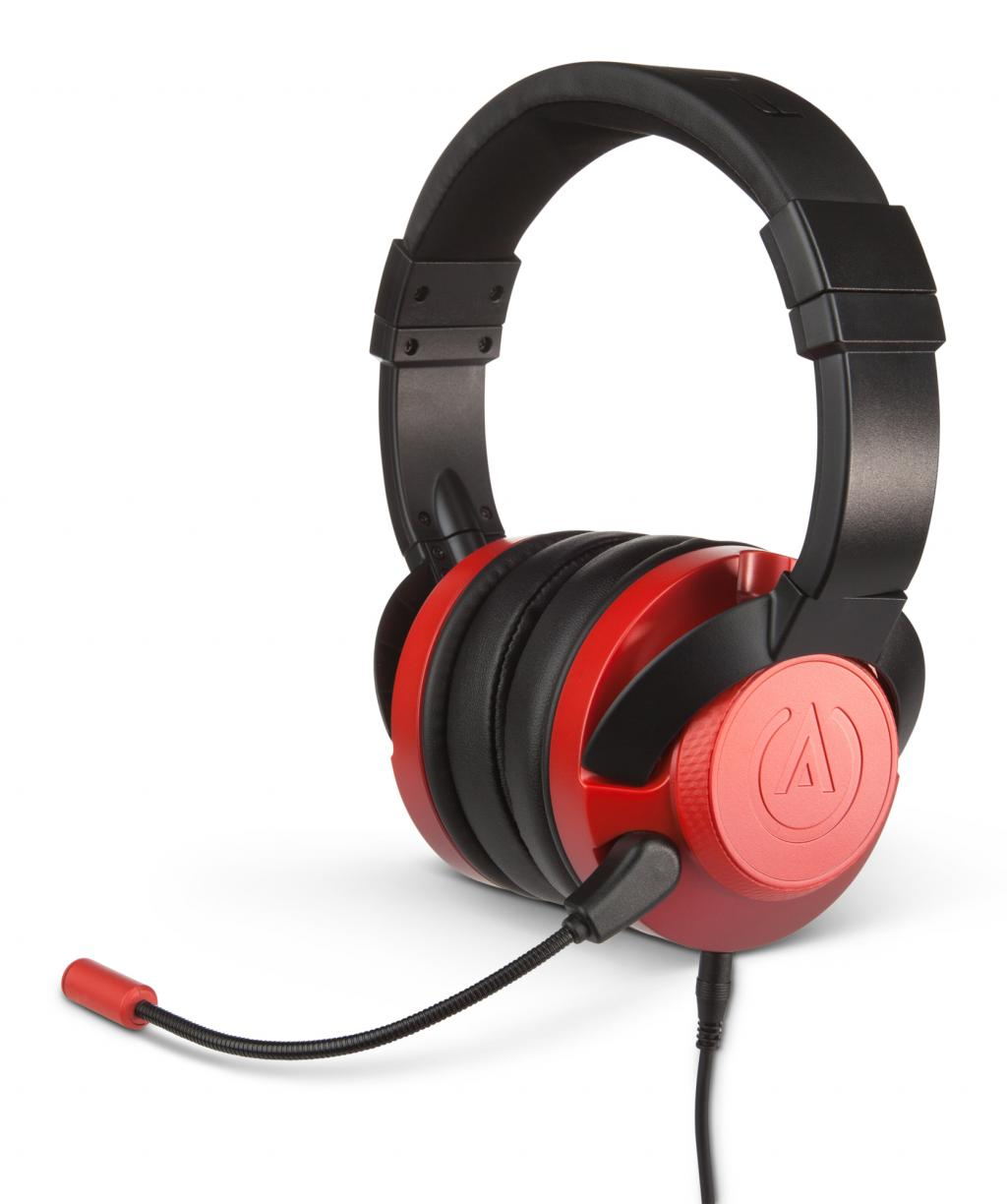 POWER A - Fusion Wired Gaming Headset Crimson (PS4/XBONE/PC//MOBILE)_1