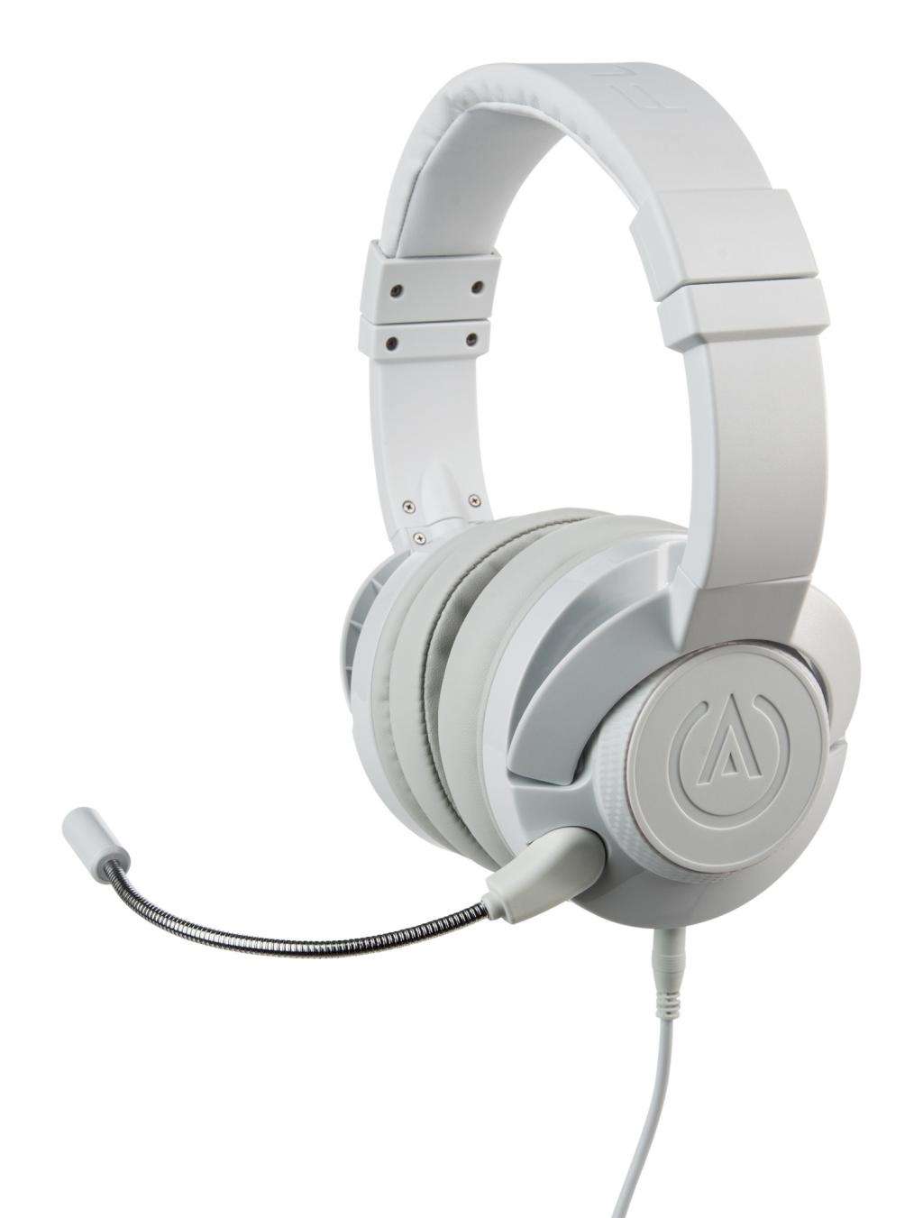 POWER A - Fusion Wired Gaming Headset White (PS4/XBONE/PC/MAC/MOBILE)_1