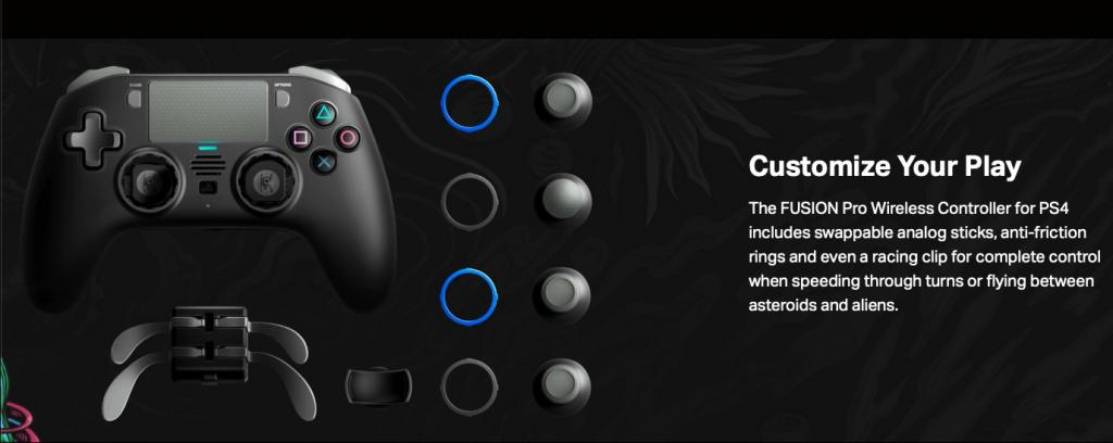 FUSION PRO WIRELESS & WIRED OFFICIAL CONTROLLER PS4_4