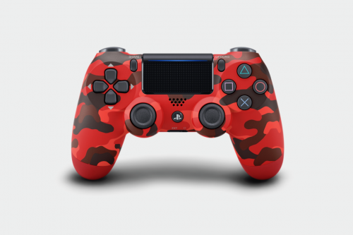 Control Pad Wireless DUALSHOCK 4 Officiel Red Camouflage V2 - PS4