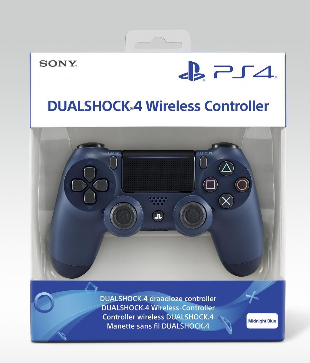 Control Pad Wireless DUALSHOCK 4 Officiel Midnight Blue  V2 - PS4_1