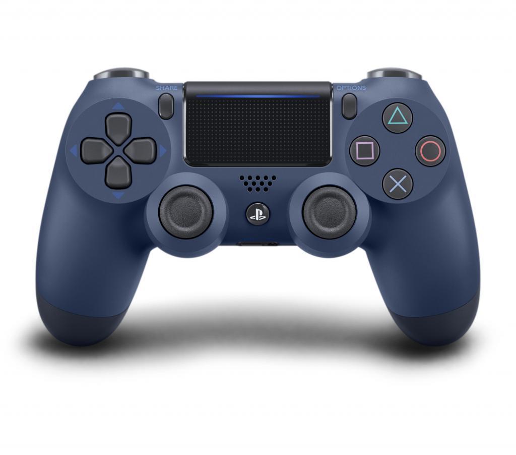 Control Pad Wireless DUALSHOCK 4 Officiel Midnight Blue  V2 - PS4_4