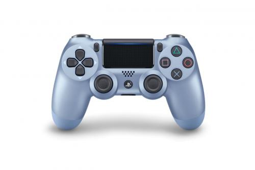 Control Pad Wireless DUALSHOCK 4 Officiel Titanium V2 - PS4