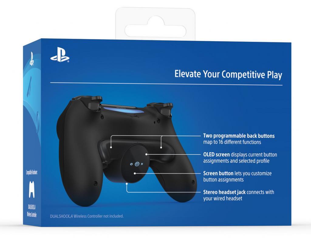 DualShock 4 Back Button Attachment PS4 (Officiel Playstation)_2
