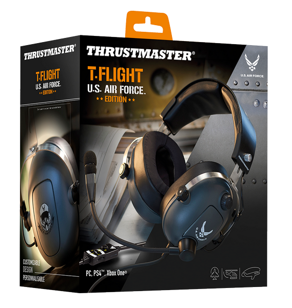 Gaming Headset T Flight  U.S Air Force Edition PS4/XBOX/PC_1