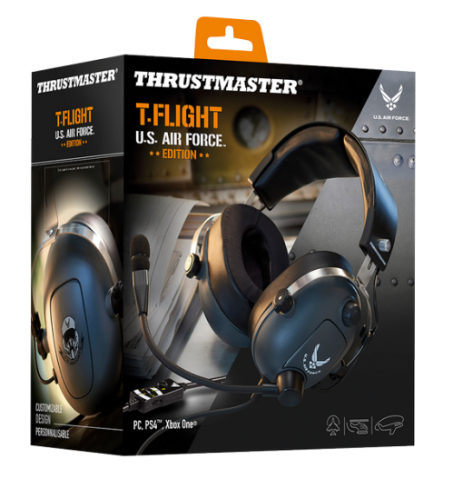 Gaming Headset T Flight  U.S Air Force Edition PS4/XBOX/PC