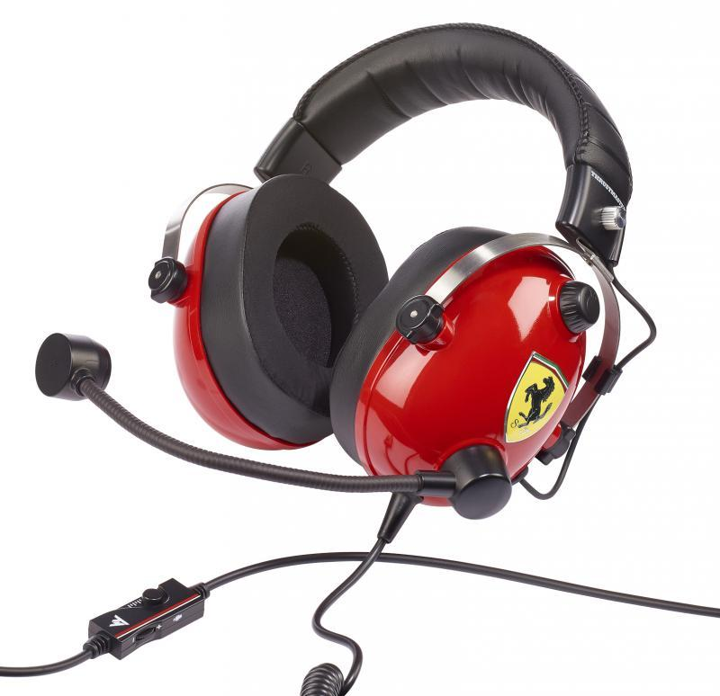Gaming Headset T Racing Scuderia Ferrari Edition PS4/XBOX/PC_2