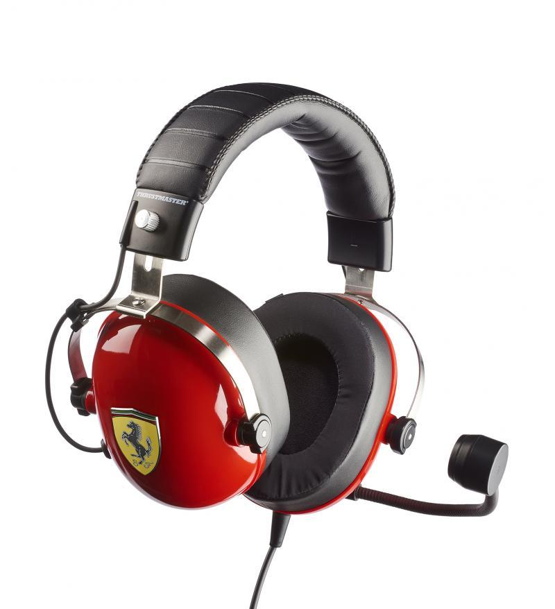 Gaming Headset T Racing Scuderia Ferrari Edition PS4/XBOX/PC_3