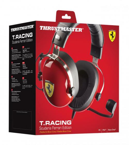 Gaming Headset T Racing Scuderia Ferrari Edition PS4/XBOX/PC