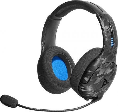 Official Playstation Wireless Headset LVL50 PS4 Camo