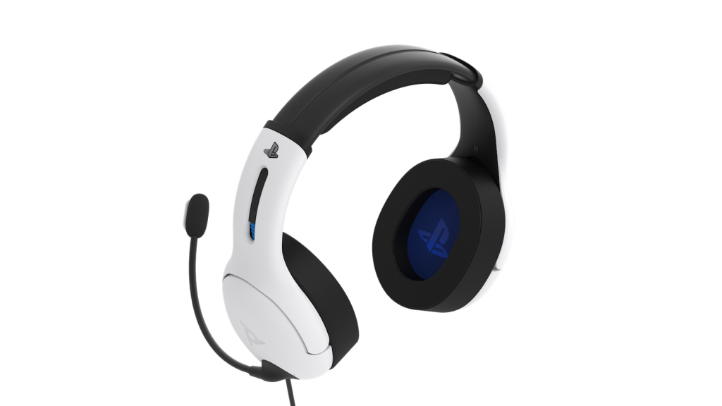 Official Playstation Wired Headset LVL50 PS4 / PS5 White_2