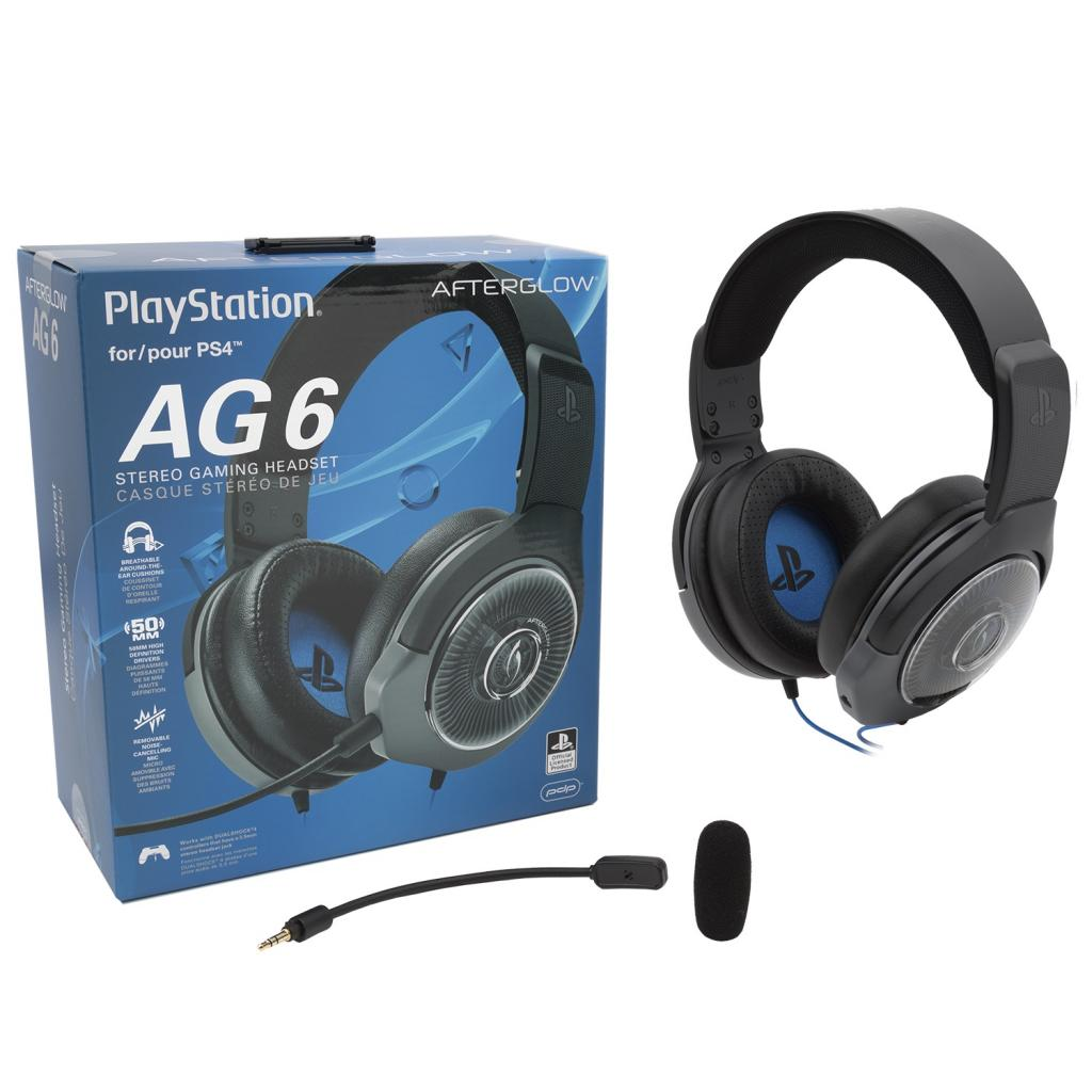Afterglow - Official Playstation Wired Stereo Headset AG6 Black