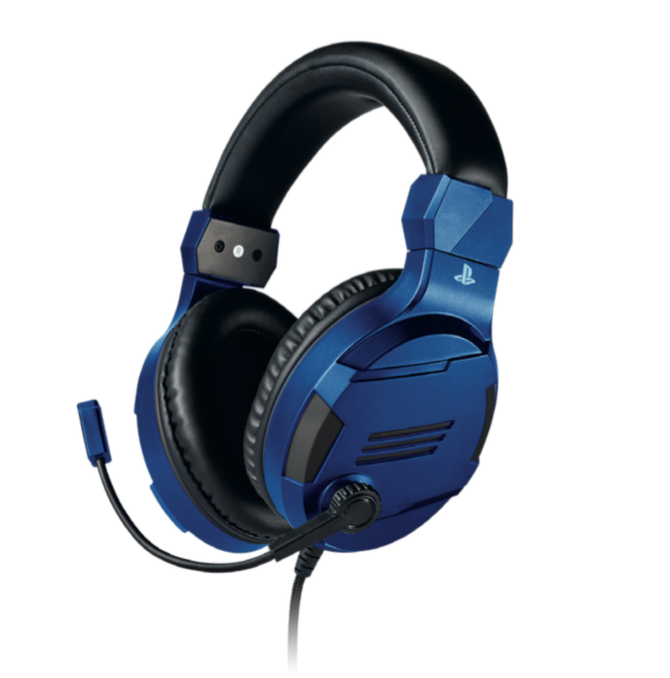 Official Playstation Gaming Headset V3 Blue for PS4 - Bigben_1