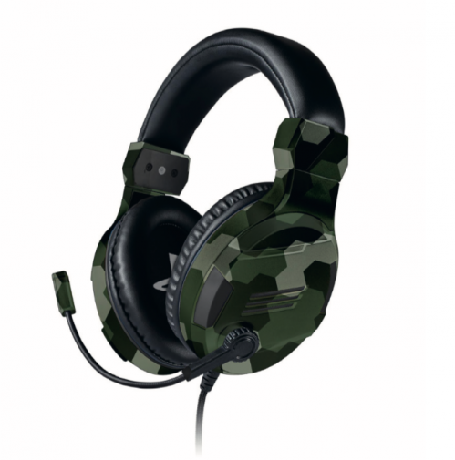 Official Playstation Gaming Headset V3 Camo for PS4 - Bigben