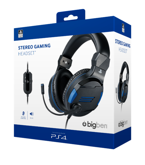 Official Playstation Gaming Headset V3 for PS4 - Bigben_2