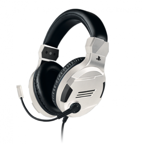 Official Playstation Gaming Headset V3 White for PS4 - Bigben