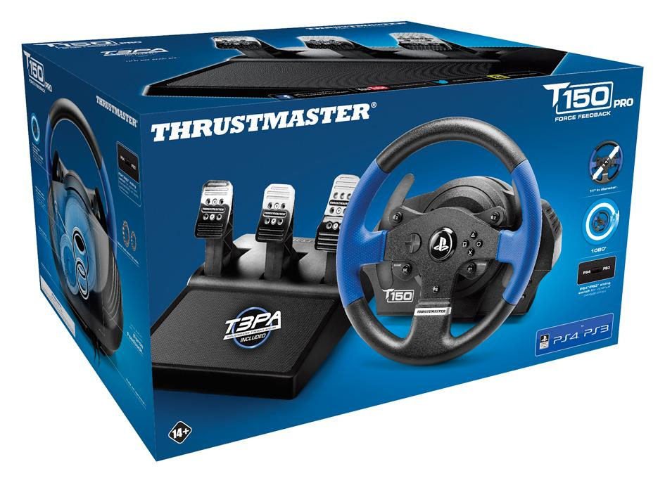 T150 RS PRO Racing Wheel Official Sony PS4/PS3/PC (Thrustmaster)_1