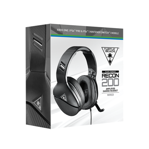 Turtle Beach - Ear Force RECON 200 Black (PS4/XBONE/SWITCH/PC/MOBILE)_2