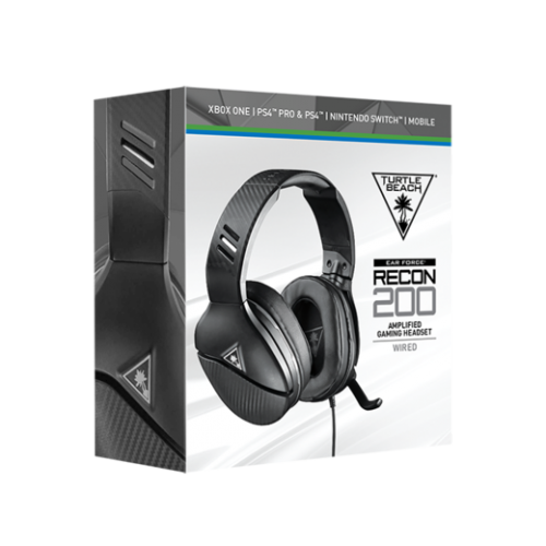 Turtle Beach - Ear Force RECON 200 Black (PS4/XBONE/SWITCH/PC/MOBILE)