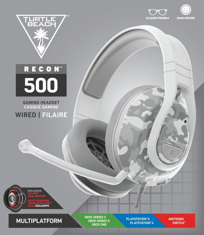 Turtle Beach - Recon 500 Headset Arctic Camo PS4/PS5/XBOX/SWITCH_1