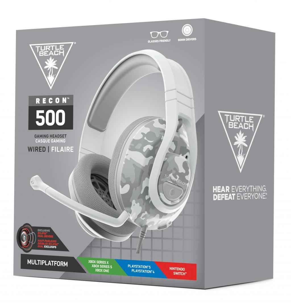 Turtle Beach - Recon 500 Headset Arctic Camo PS4/PS5/XBOX/SWITCH_4