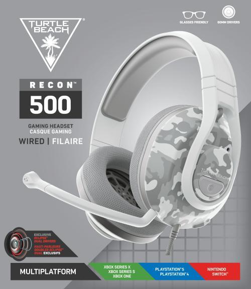 Turtle Beach - Recon 500 Headset Arctic Camo PS4/PS5/XBOX/SWITCH
