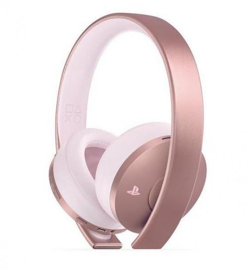 PS4 Wireless Stereo Headset Gold Rose