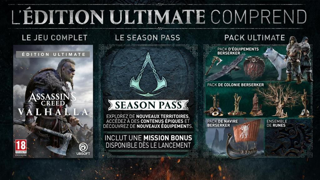 Assassin's Creed Valhalla Ultimate + Edition - UPGRADE PS5 free_2