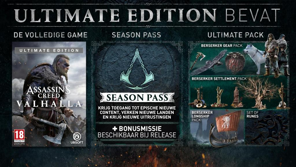 Assassin's Creed Valhalla Ultimate + Edition - UPGRADE PS5 free_3