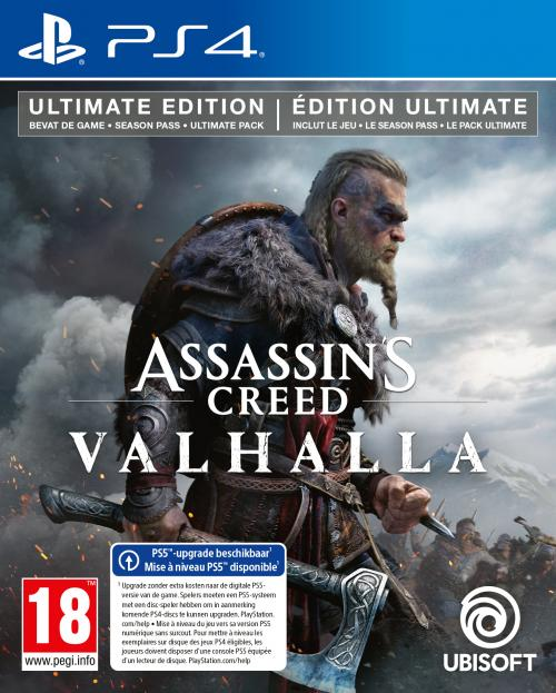 Assassin's Creed Valhalla Ultimate + Edition - UPGRADE PS5 free