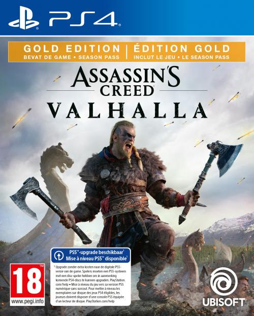 Assassin's Creed Valhalla Gold Edition  - UPGRADE PS5 free