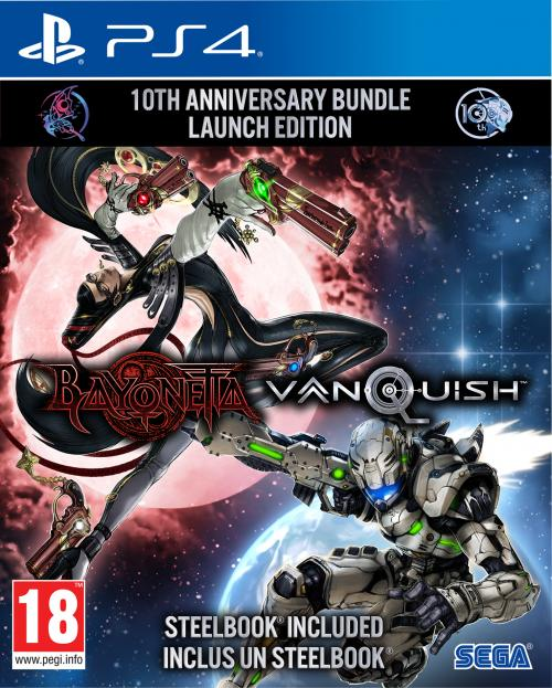 Bayonetta & Vanquish Double Pack -Limited 10th Anniversary Ed (BOX UK)