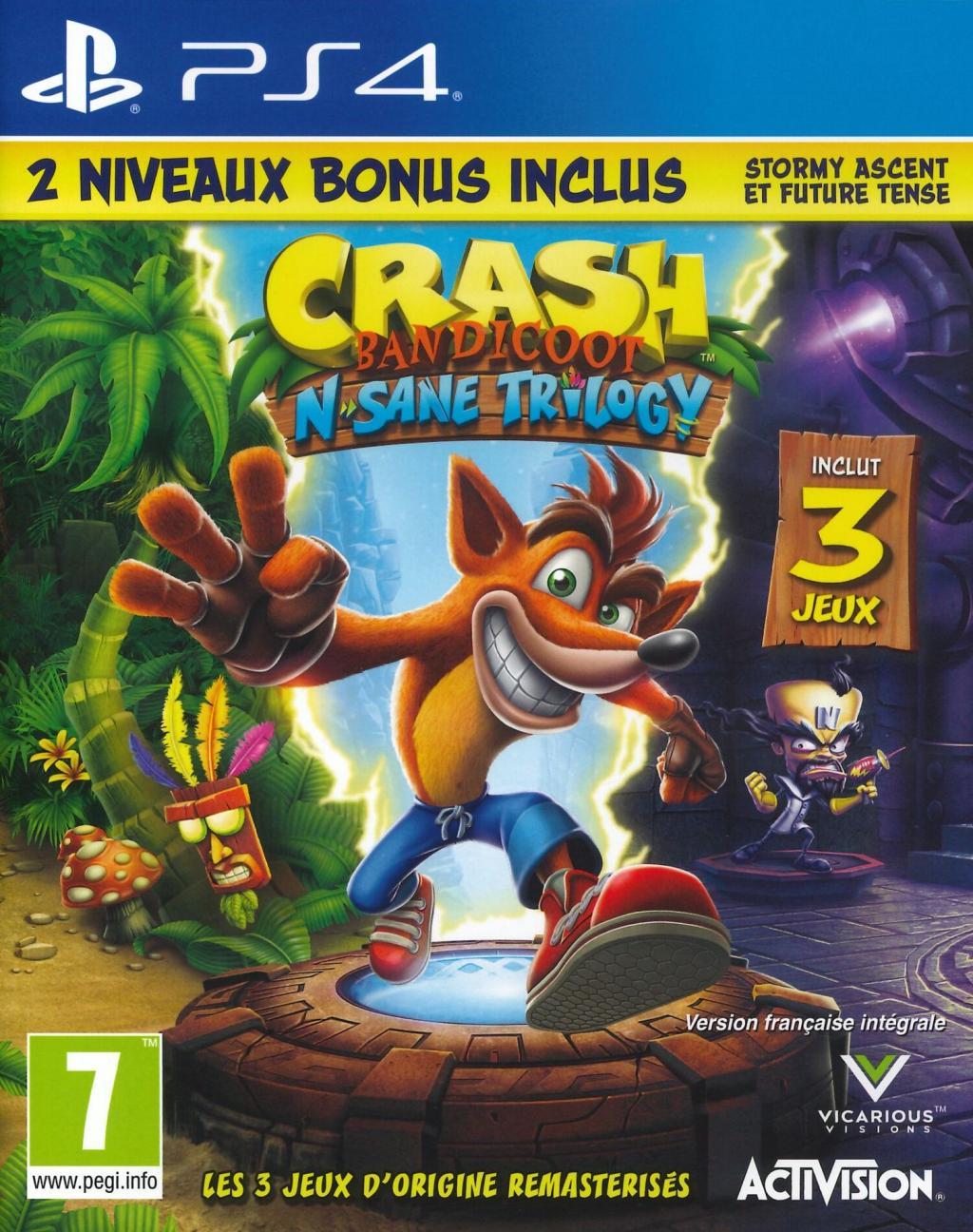 Crash Bandicoot : The N Sane Trilogy 2.0