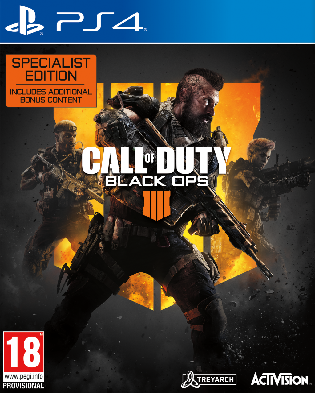 Call Of Duty Black OPS 4 Specialist Edition