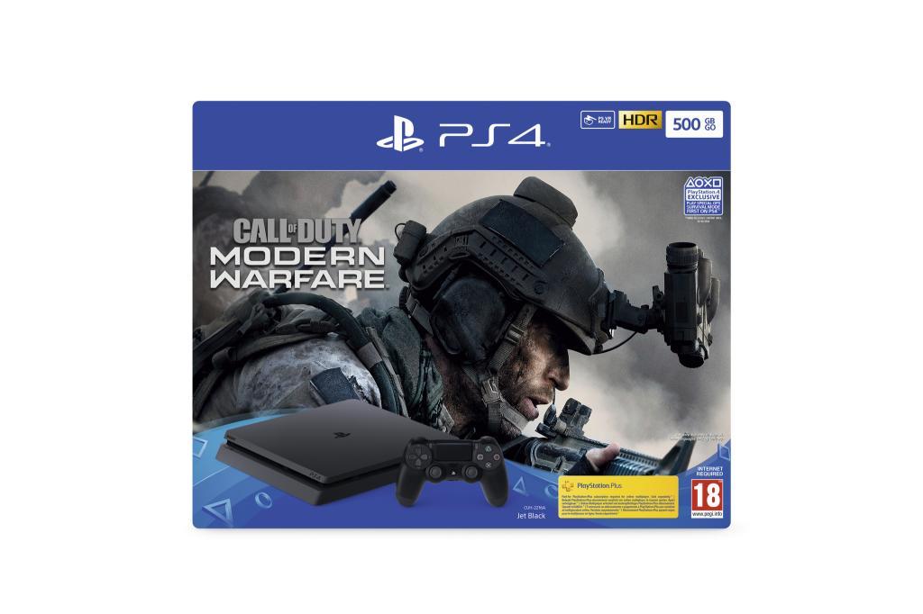 Console PS4 500 GB -  Call of Duty Modern Warfare
