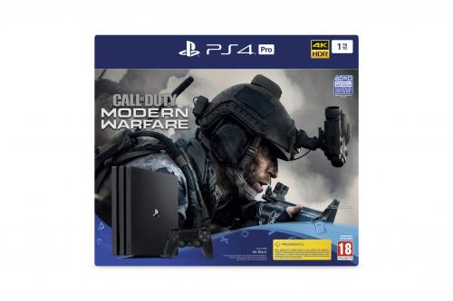 Console PS4 PRO - 1To Black - Call of Duty Modern Warfare