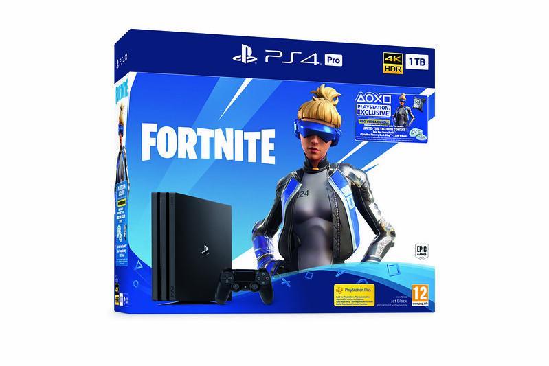 Console PS4 PRO - 1To Black Fortnite 2000 V-Bucks