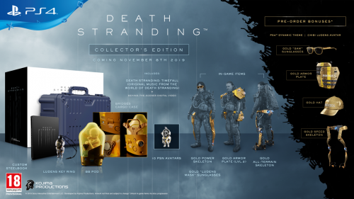 Death Stranding Collector Edition (PS4 Only)