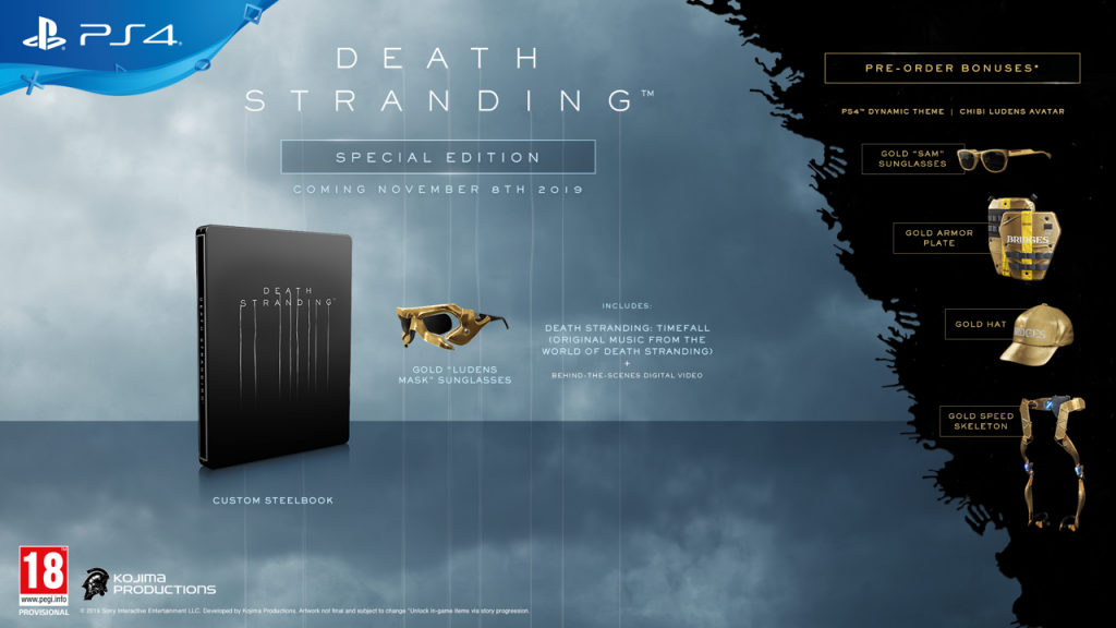 Death Stranding Special Edition (PS4 Only)