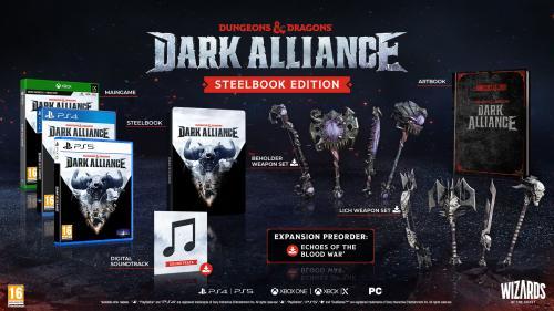 Dungeons & Dragons - Dark Alliance - Special Edition (BOX UK)